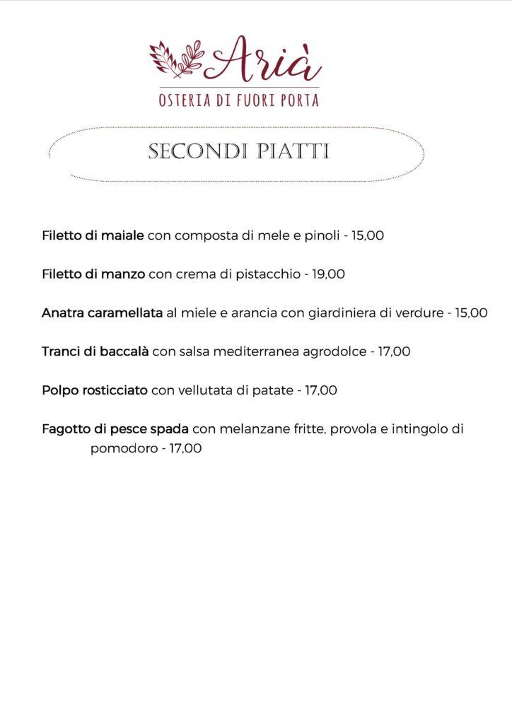 menu 051119 secondi piatti