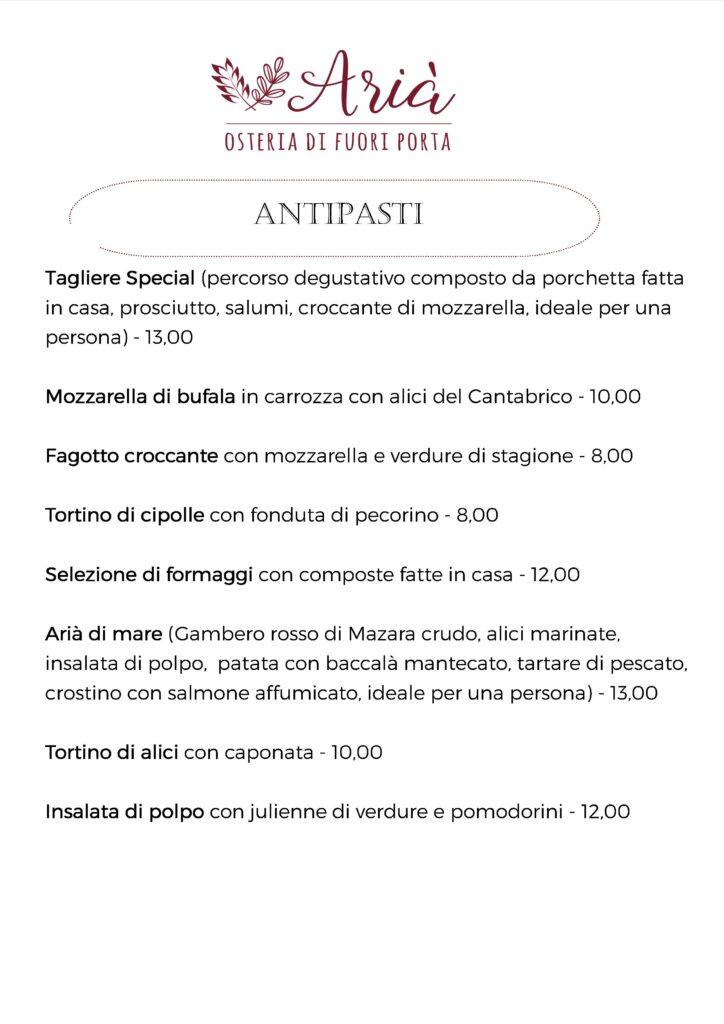 menu 131020 antipasti