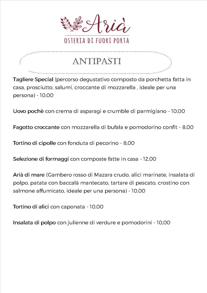 menu 180520 antipasti