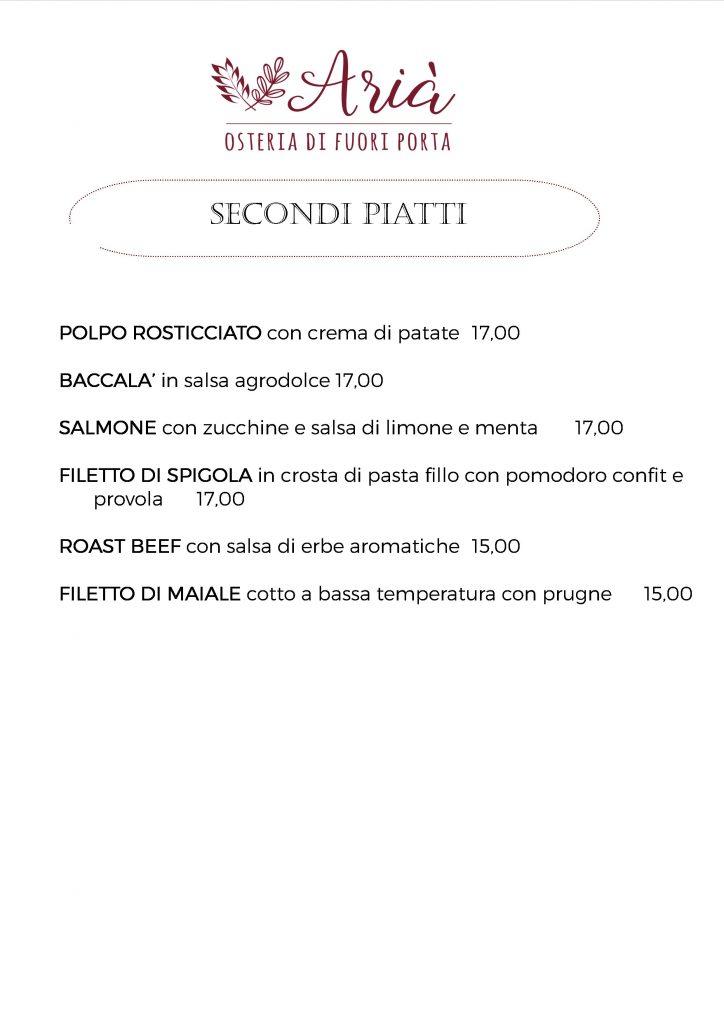 menu 190821 secondi piatti