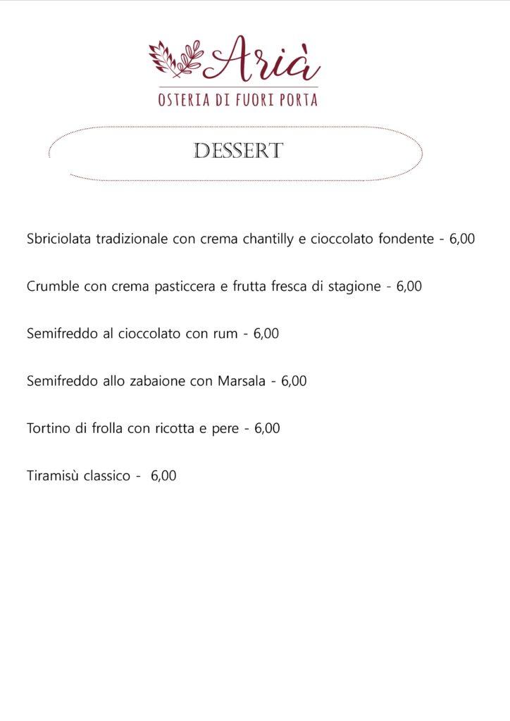 menu 171018 dessert