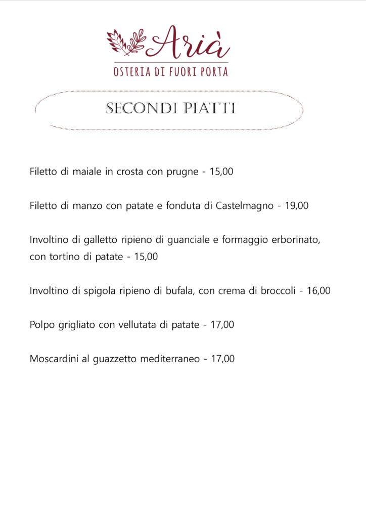 menu 171018 secondi piatti