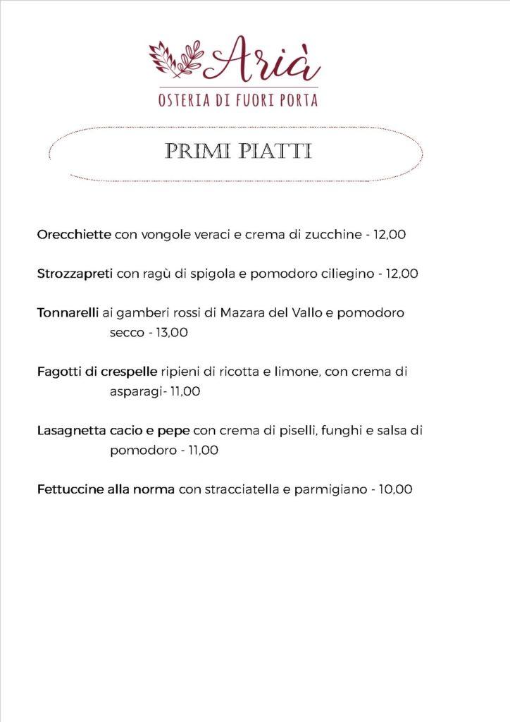 menu 180520 primi piatti