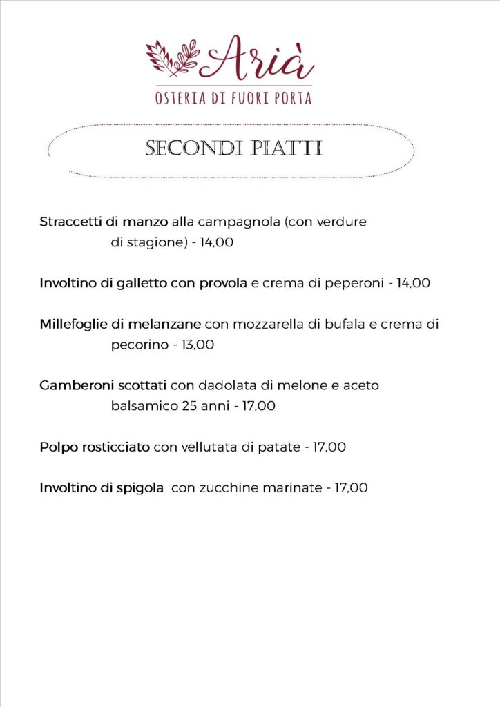 menu 180520 secondi piatti